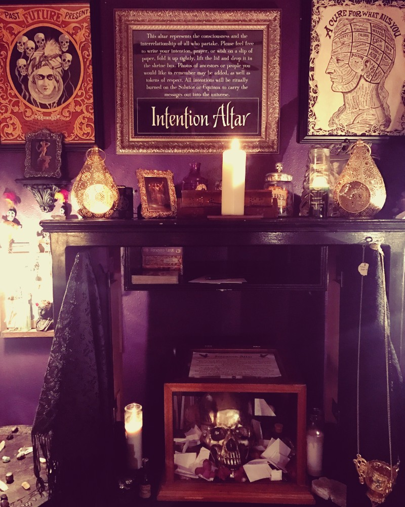 Intention Altar at Alchemy and Ashes