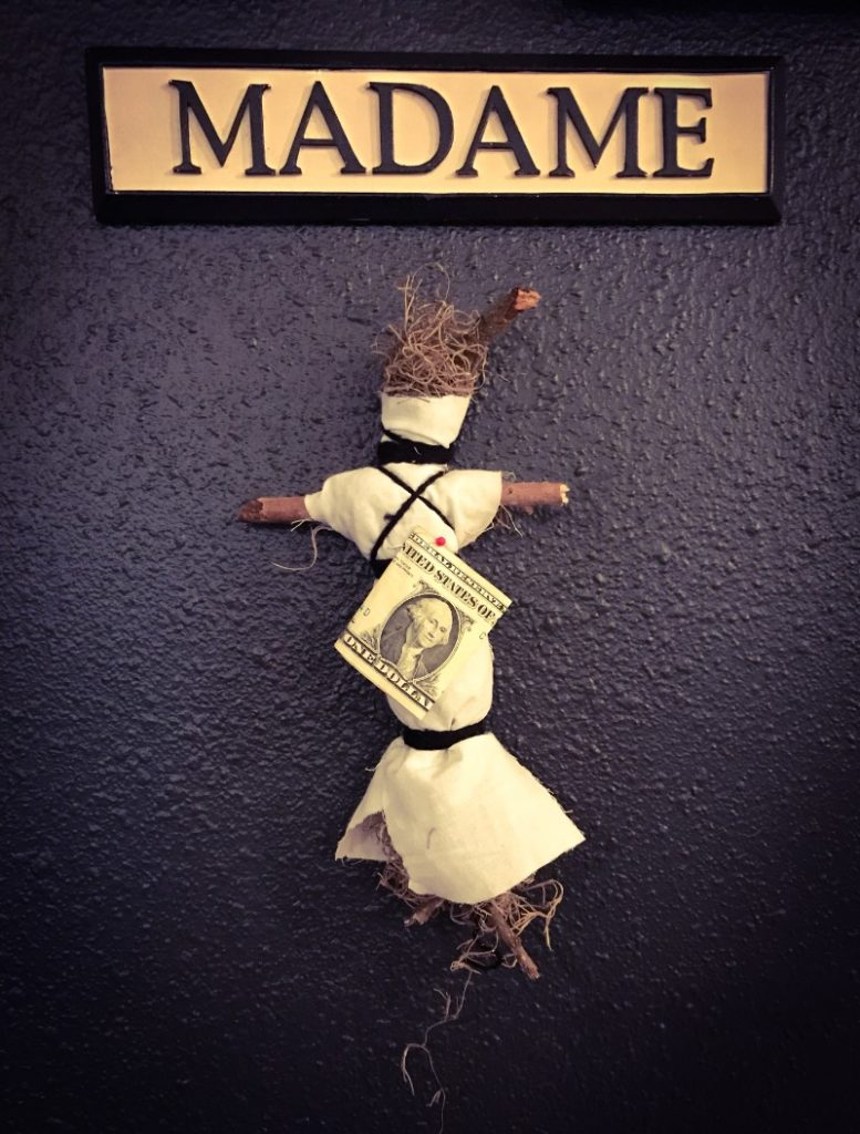 Voodoo doll at Alchemy and Ashes
