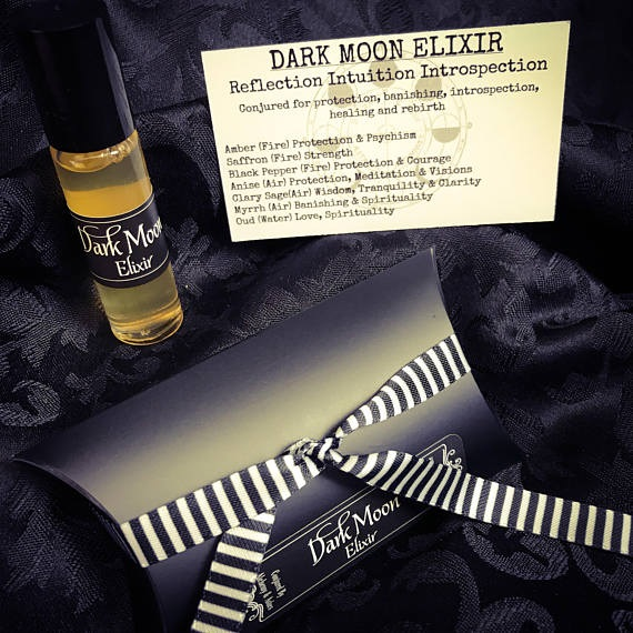 Dark Moon Elixir perfume by Alchemy and Ashes