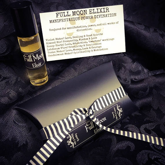 Full Moon Elixir perfume by Alchemy and Ashes