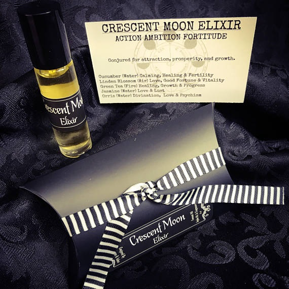 Crescent Moon Elixir perfume by Alchemy and Ashes