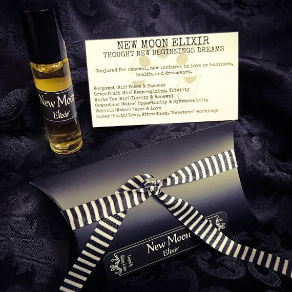 New Moon Elixir perfume by Alchemy and Ashes