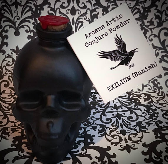 Incense, Exilium, Banish, by Alchemy and Ashes