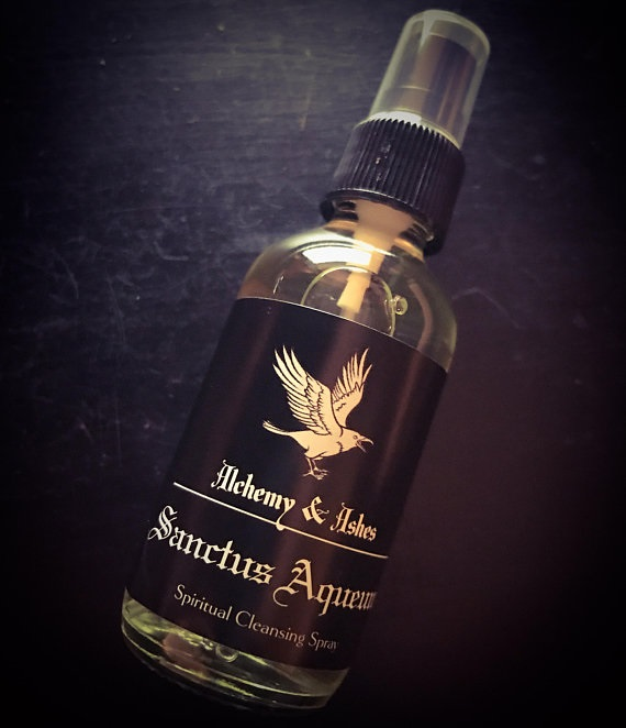 Florida Water, Sanctus Aqueum, by Alchemy and Ashes