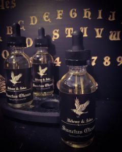Protection Oil Sanctus Oleum by Alchemy and Ashes
