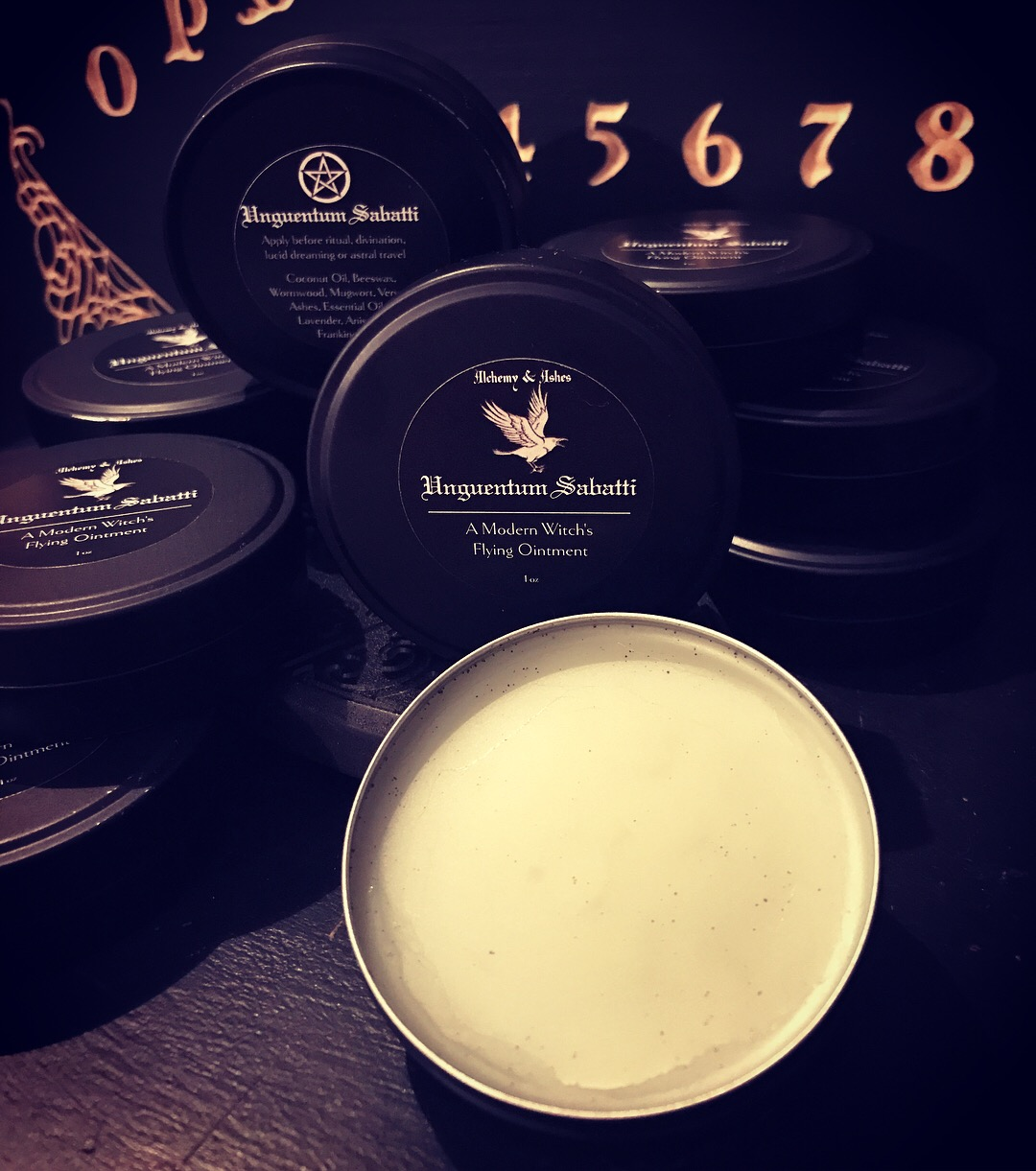 Witch's Flying Ointment by Alchemy and Ashes